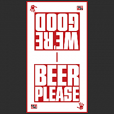 BEER PLEASE Golf Towel Tour Size