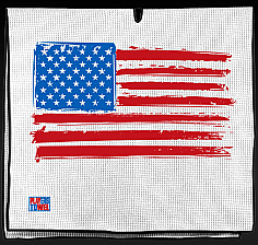 American Flag Golf Towel