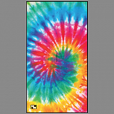 Tie Dye Players Towel